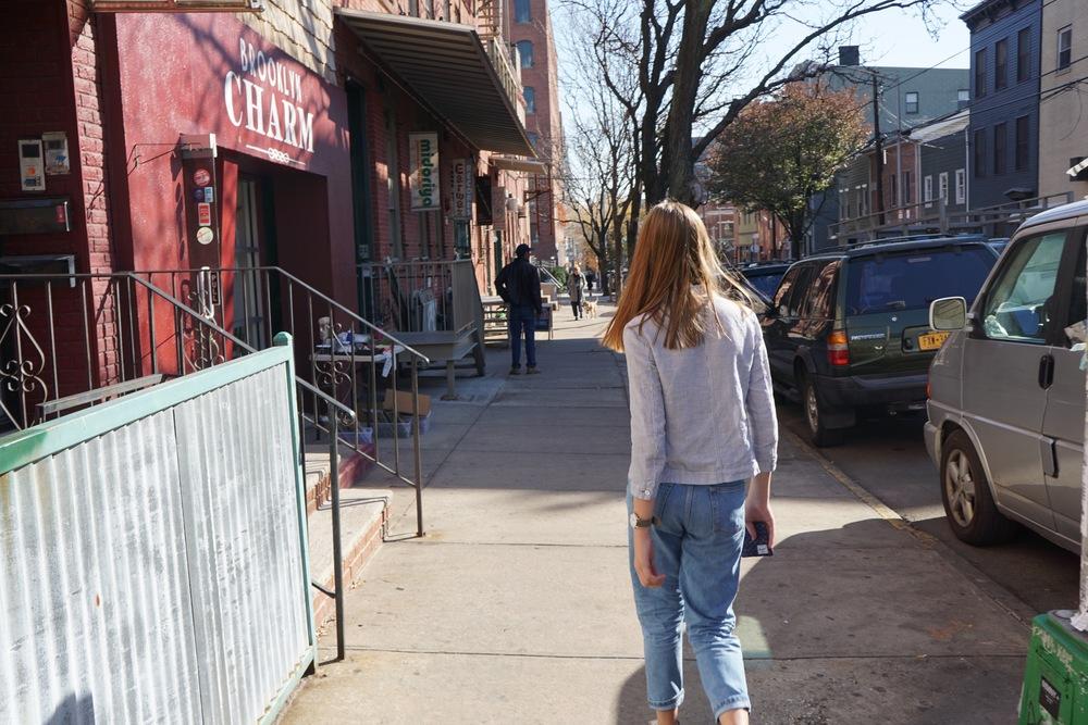 Light Denim Topshop Mom Jeans