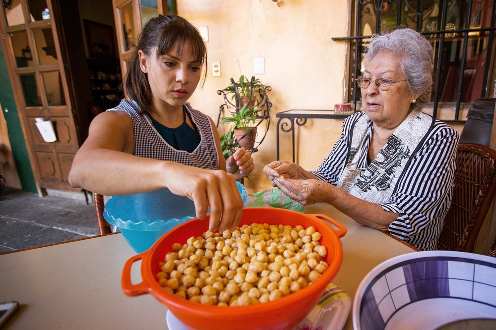 """Garbanzos en Miel"" with Lulu in Oaxaca, Mexico"