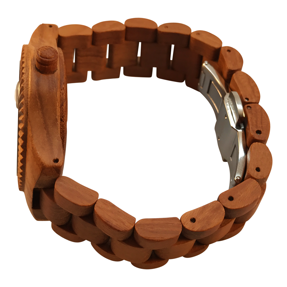 The ScoutsOn Watch Company - The Veteran - Teak - Overhead Side.png