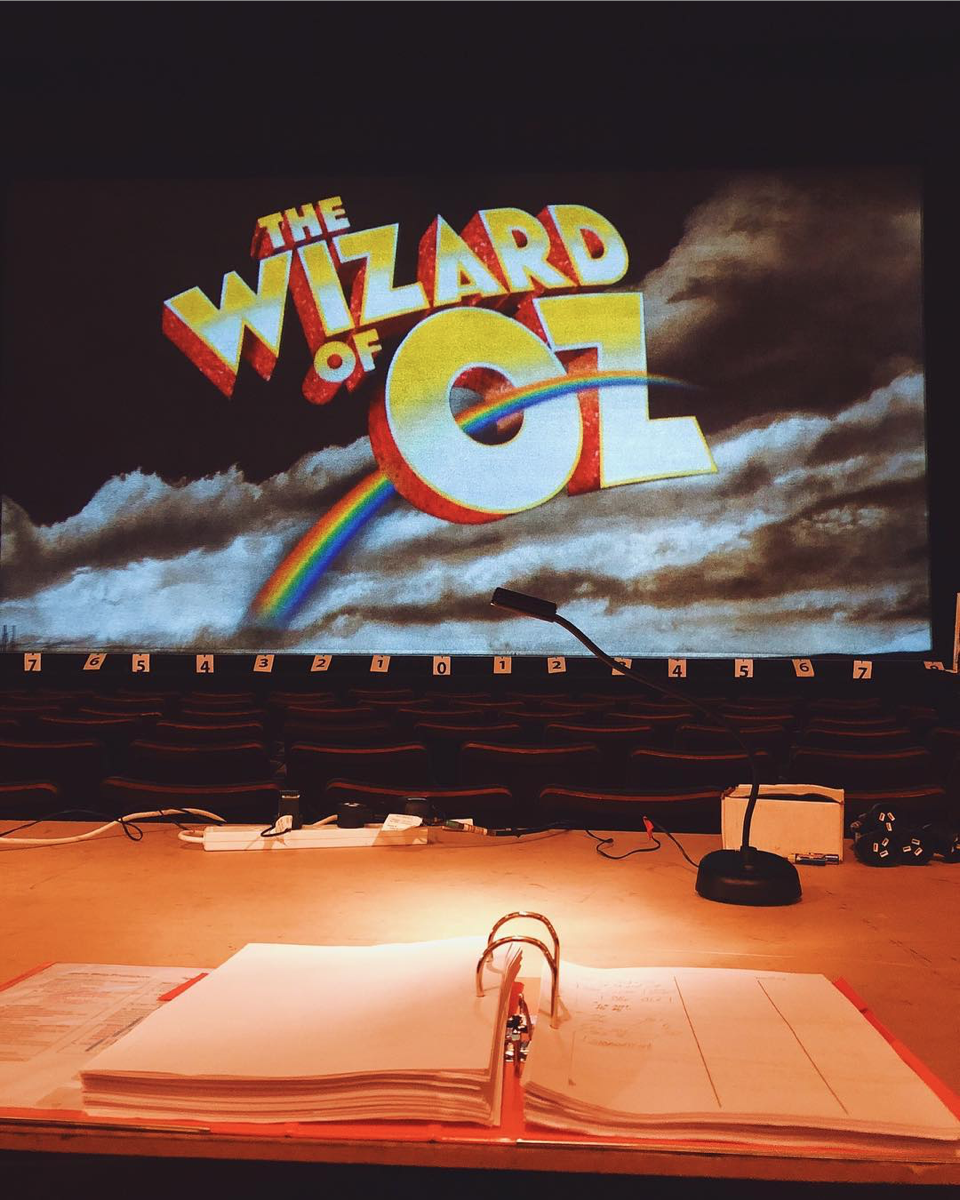 - One of my favourite things about being a Stage Manager is getting to call the show! Here's a throw back to our first week in Melbourne where I got to learn to call Act Two from the house! It's very rare to learn the show call from the house, but it really gave me an eye for the detail. #wizardofozau (📸 @joshuabroadbent)