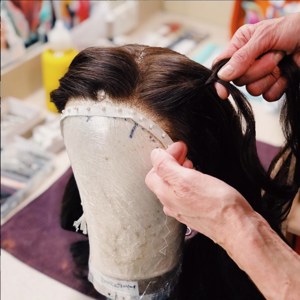 - Did you now there are over 60 wigs used in The Wizard of Oz?! Our Head Of Wigs, Sharron, has the incredible job of restyling and resetting them all to ensure they look perfect every night. Here is the lovely @sammdods Dorothy wig being restyled last night in time for today's performance. #wizardofozau (📸 @joshuabroadbent)