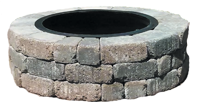 Circle Madera Stone Fire Pit Kit