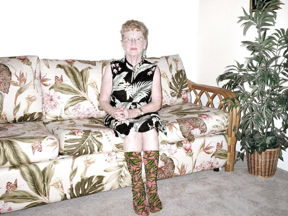 nylon grandma