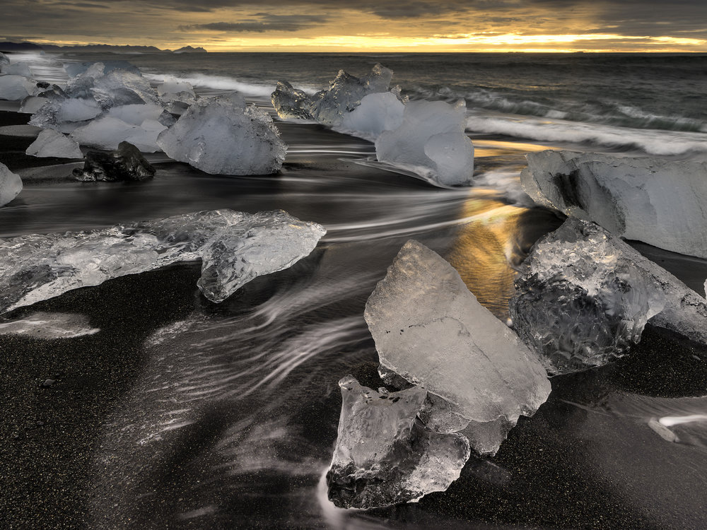 Jökulsárlón Beach Iceland