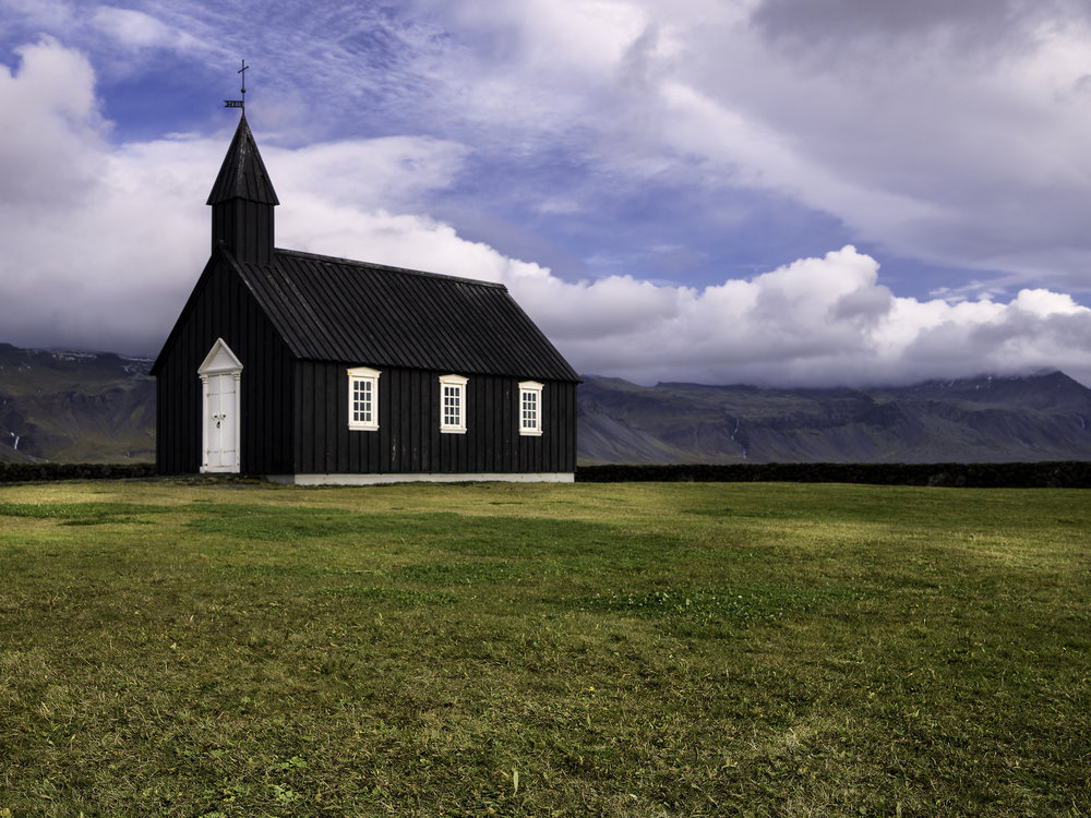 Budir Church Iceland