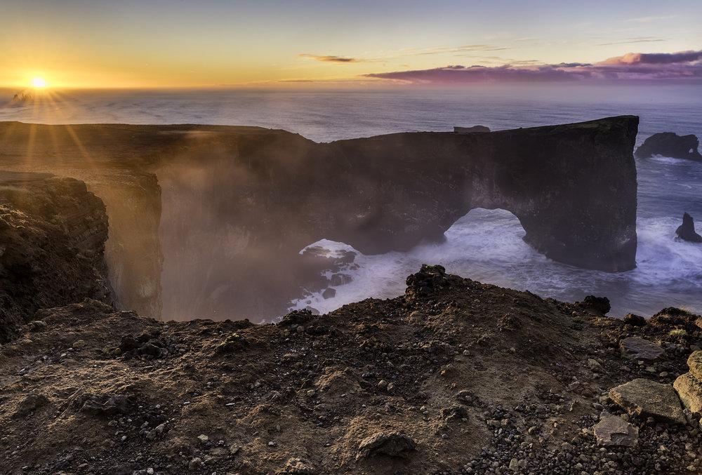 Reynisdranger Cliffs Iceland