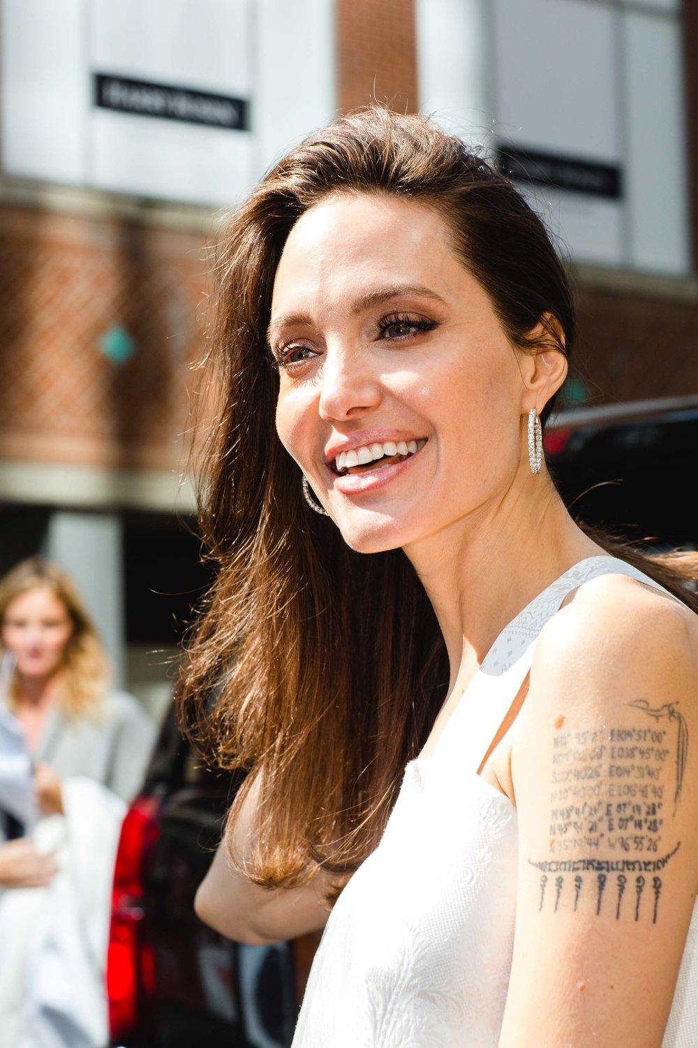 "Angelina Jolie at the red carpet premiere of ""The Breadwinner"""