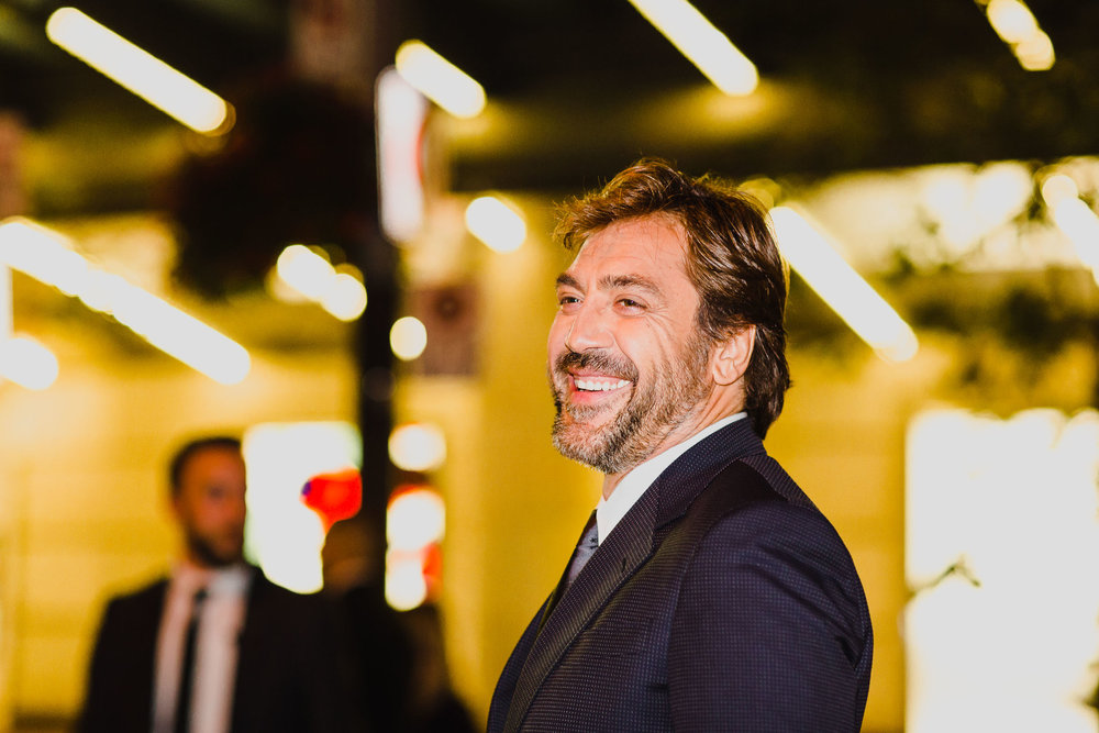 "Javier Bardem at the red carpet premiere ""Mother!"""