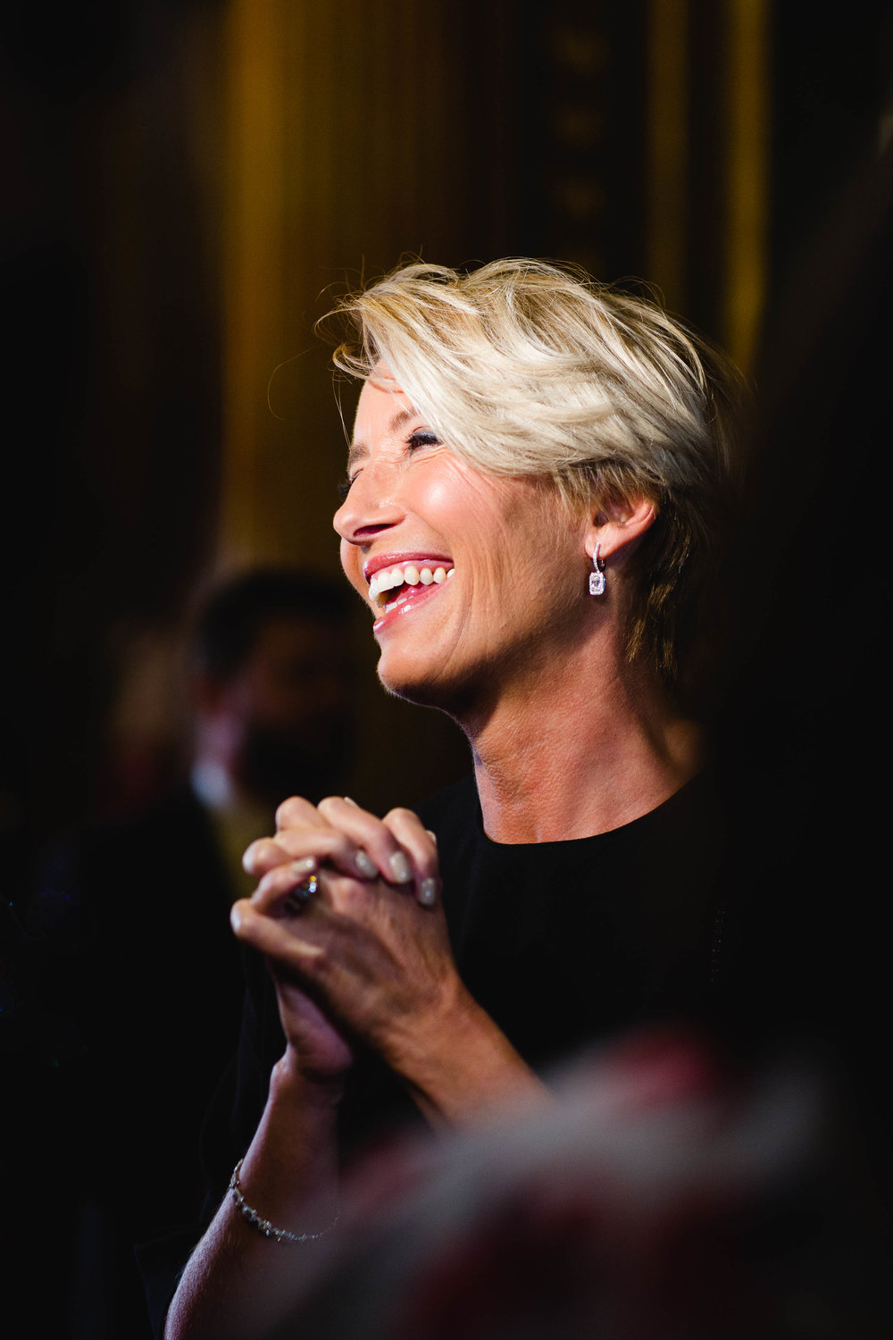 "Emma Thompson at the red carpet premiere of ""The Children Act"""