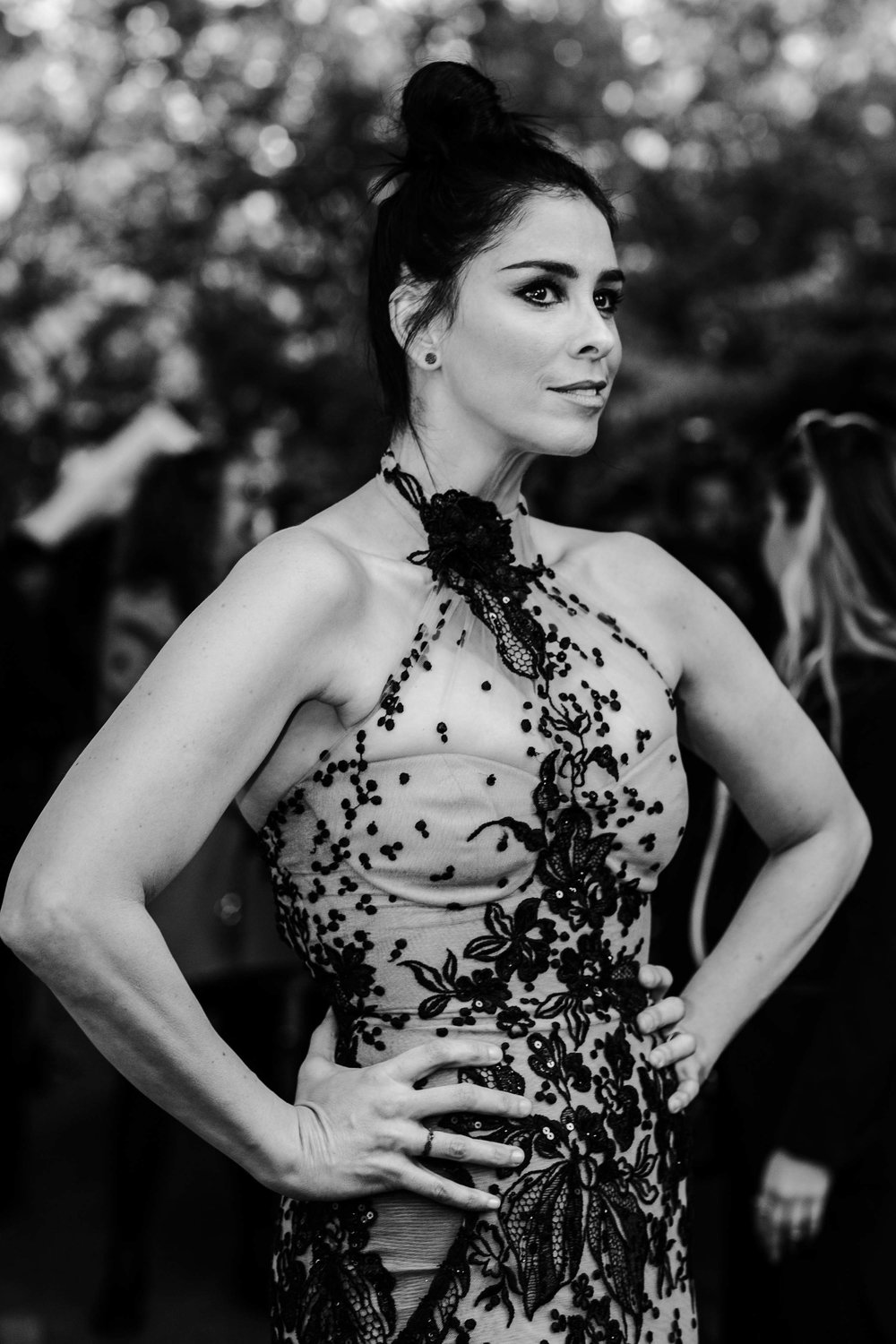 "Sarah Silverman at red carpet premiere of ""Battle Of The Sexes"""