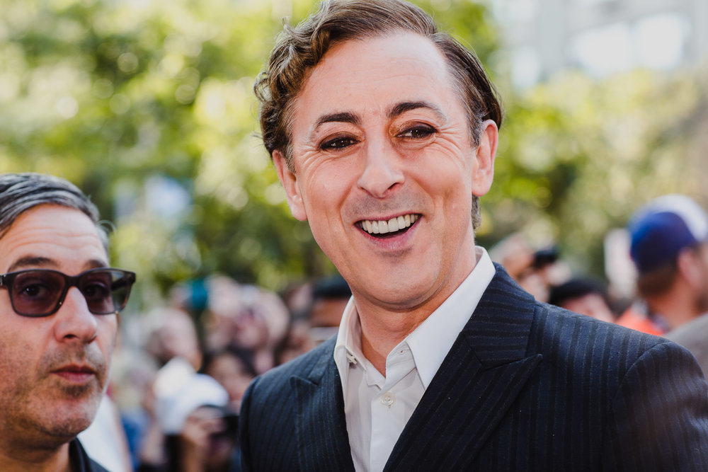 "Alan Cumming at red carpet premiere of ""Battle Of The Sexes"""