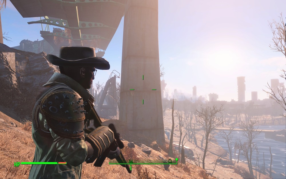 Screenshot of Fallout 4 taken in between the several quicksaves