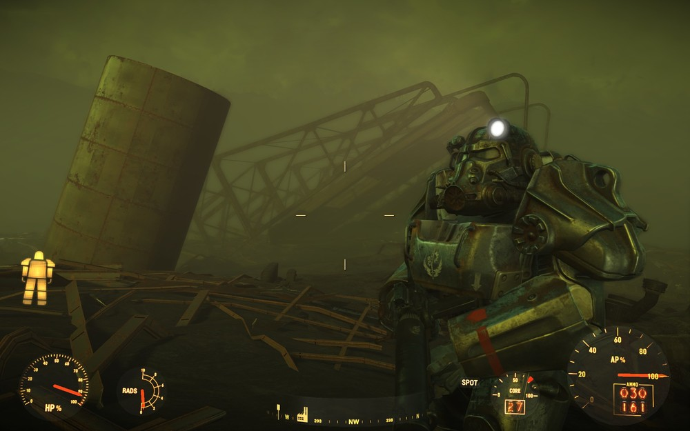 I hardly ever use power armor, but it sure looks cool.