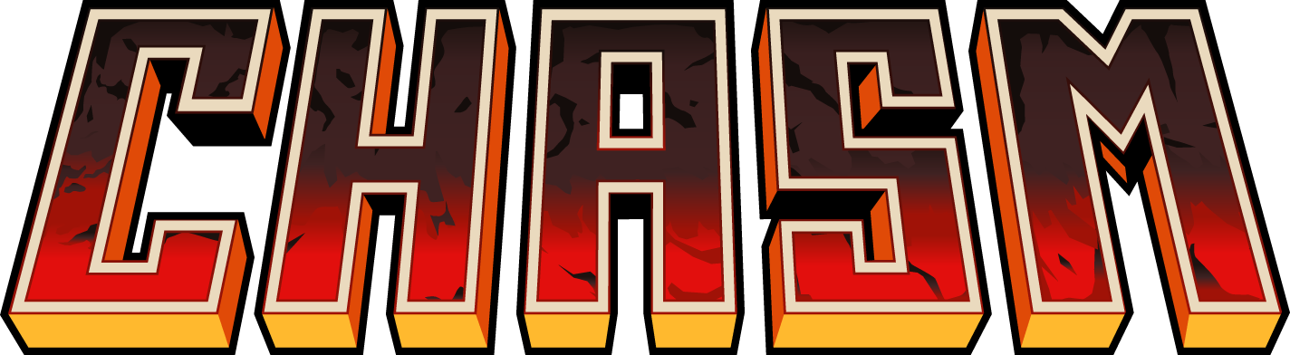 Image result for Chasm game logo png