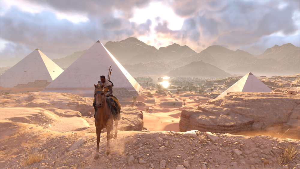 Say hello to the ancient Egyptian Witcher.