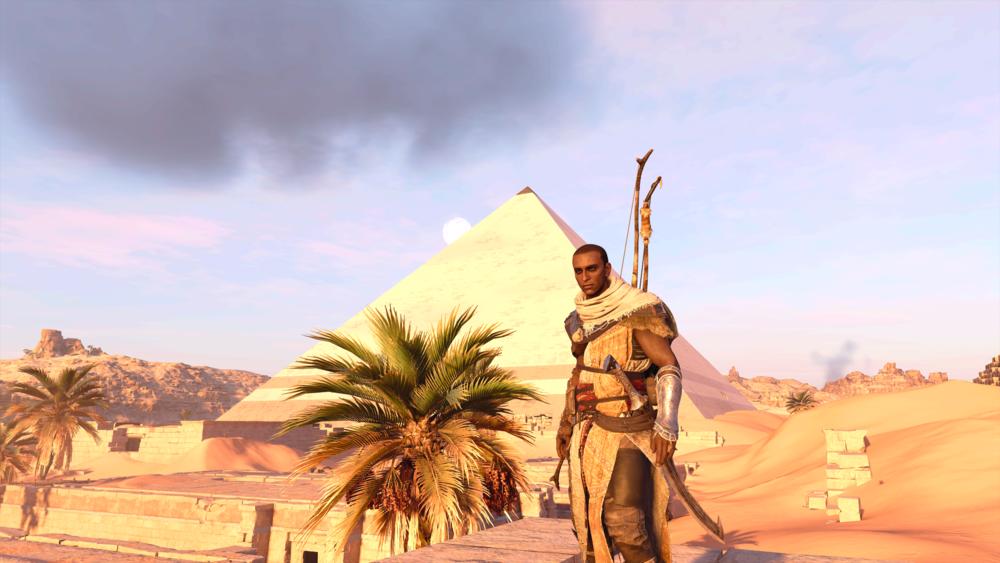 Yup, I totally raided that pyramid for treasure.