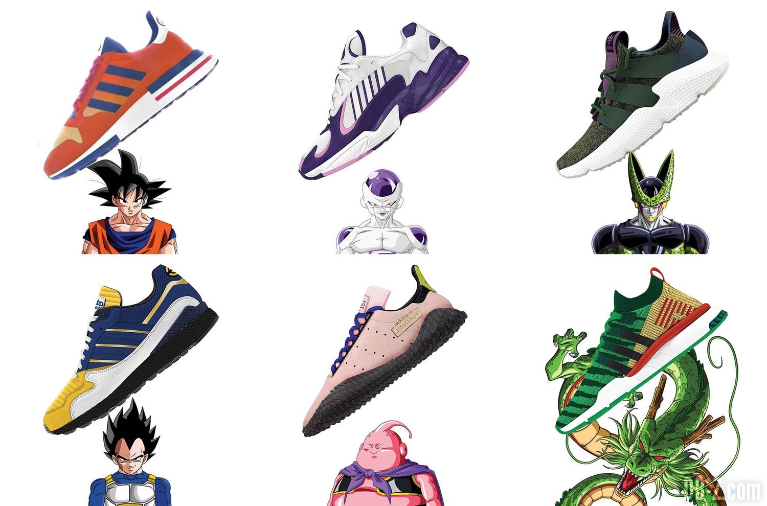 eaf7f62881da4 Adidas X Dragon Ball Z - An Intersectionality of Nerdistry — Unique Drops
