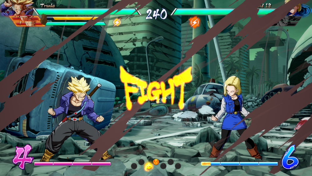 Future Trunks is pretty badass, especially with the sword.