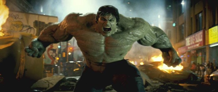 The muscles never looked right on Hulk.