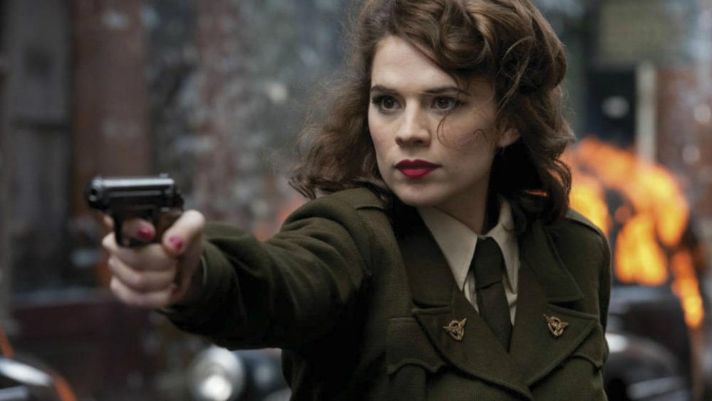Peggy Carter don't take no guff.