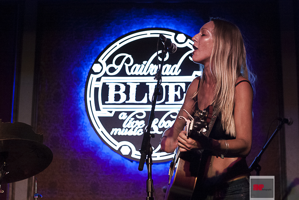 Carly Jo Jackson - Railroad Blues - 06/20/2015