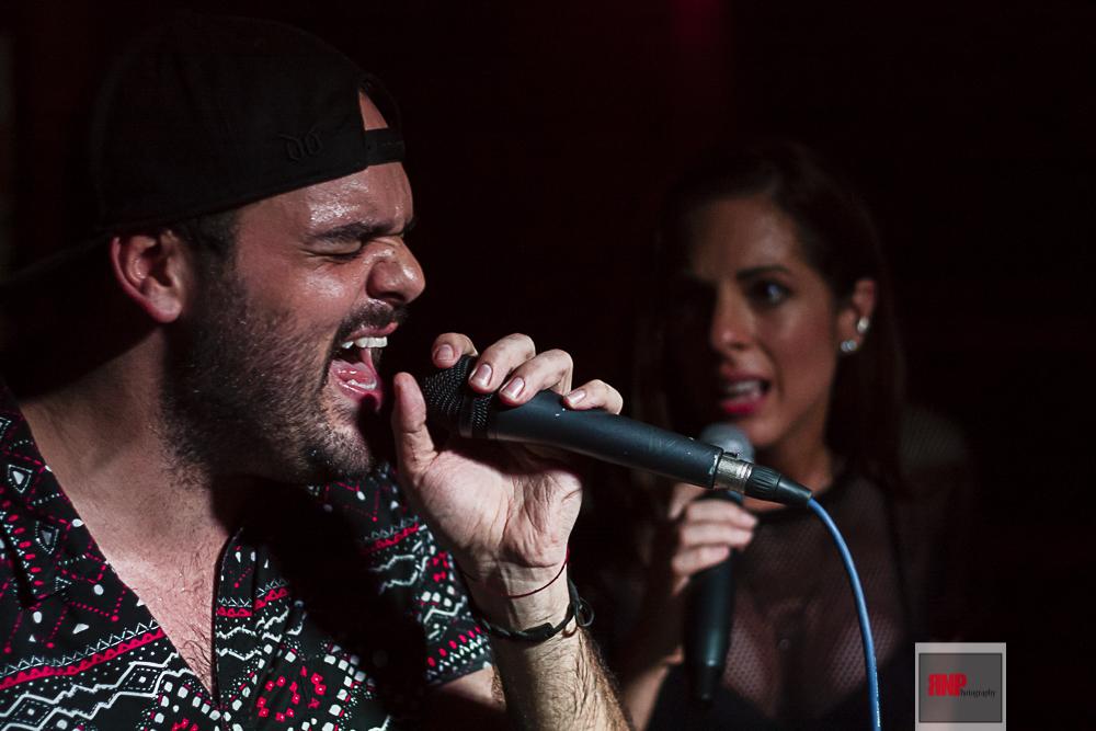 Liza and Robbie - Bougies Bar - 07/12/2015
