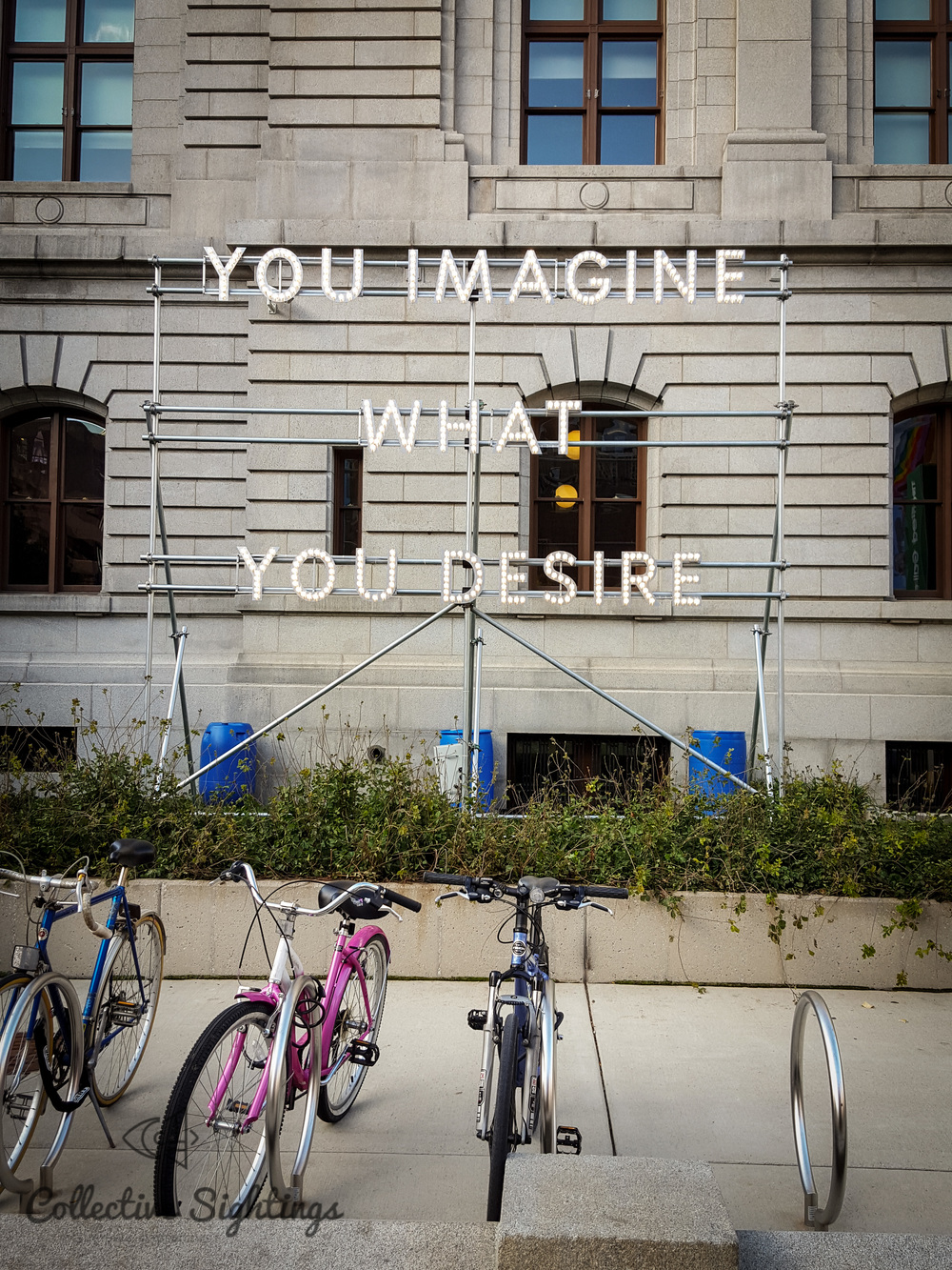 Nathan Coley , You Imagine What You Desire