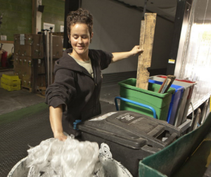 Zero waste sorting at organic produce distributor Veritable Vegetable