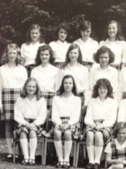 Kilted at 10 or 11 years old. (Back row far left.)