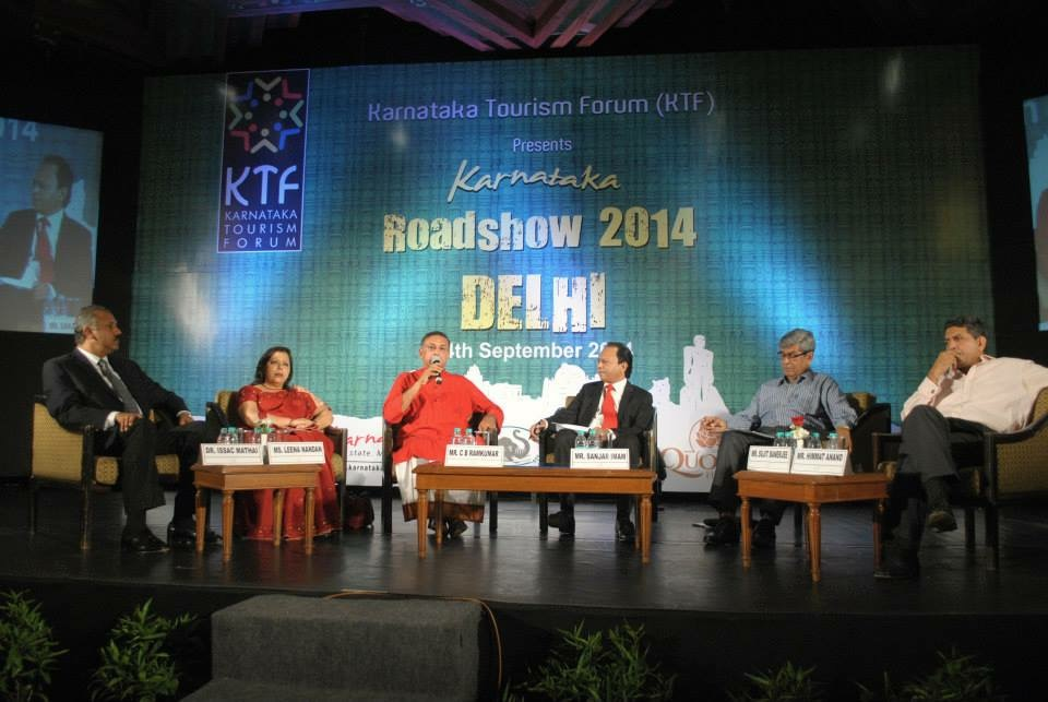 Karnataka Tourism Forum Delhi Roadshow, 2014