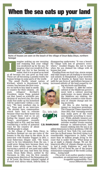 Deccan Chronicle, 1st December 2015