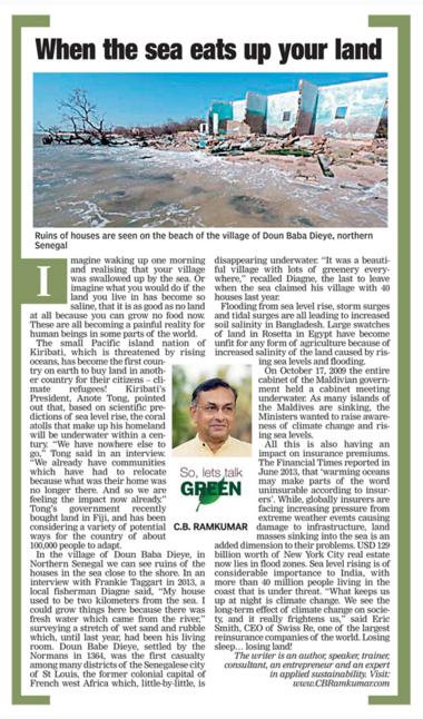 Deccan Chronicle, 1st December 2015