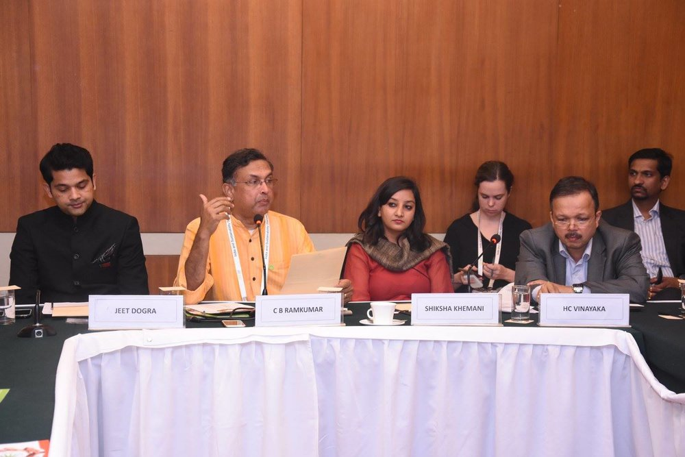 CRB Conference, New Delhi, November 2016