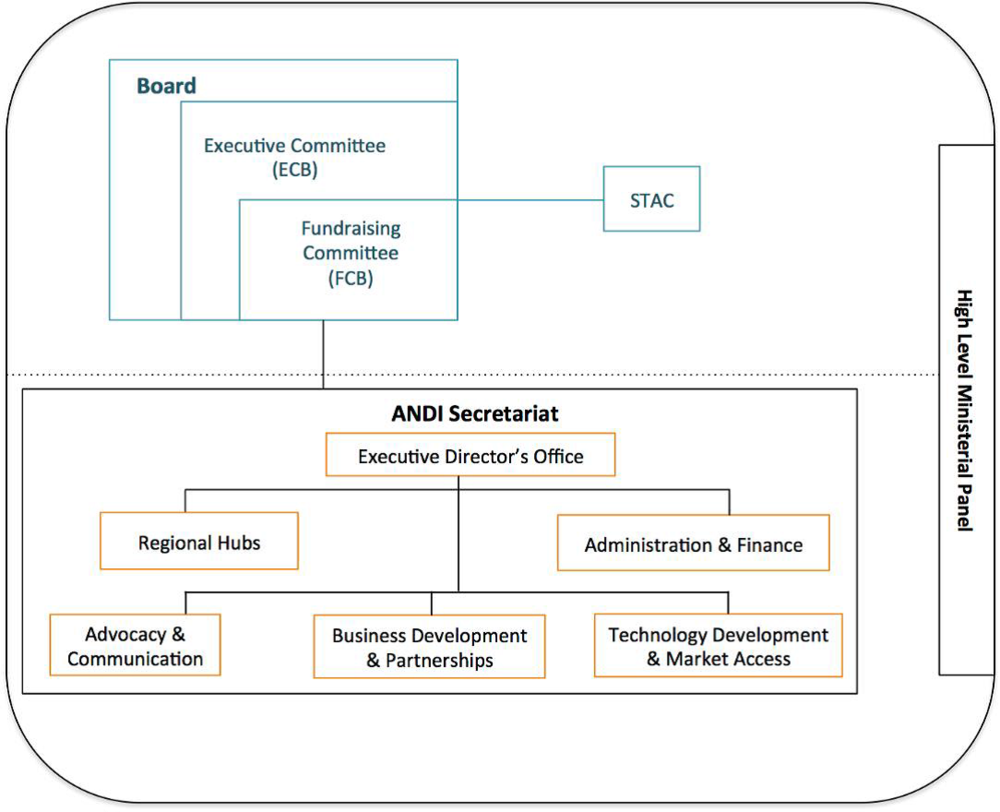 Figure V. ANDI Organization Structure