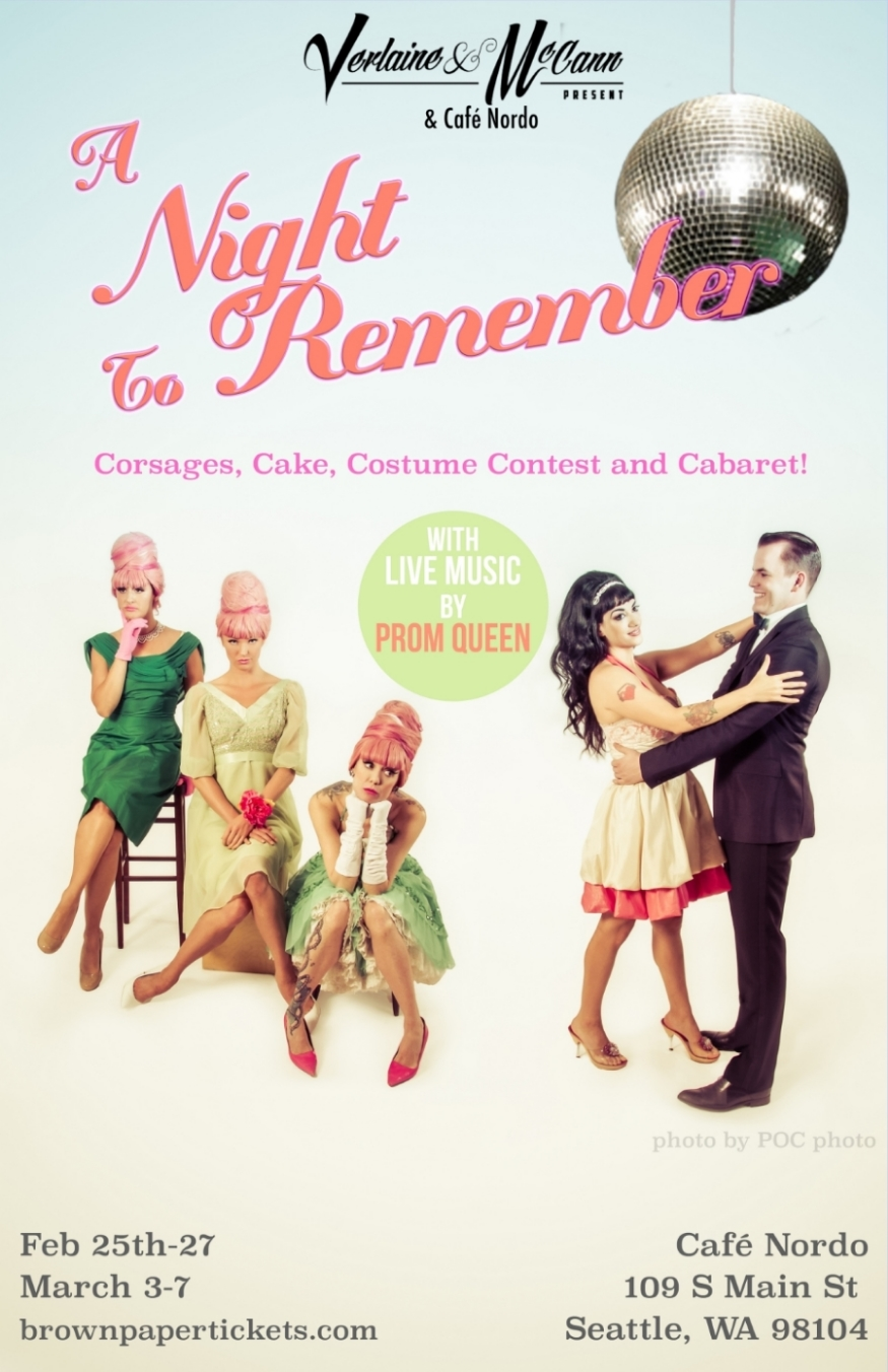 Nordo teams up with Prom Queen and the hottest names in burlesque for nostalgia spiked soiree.