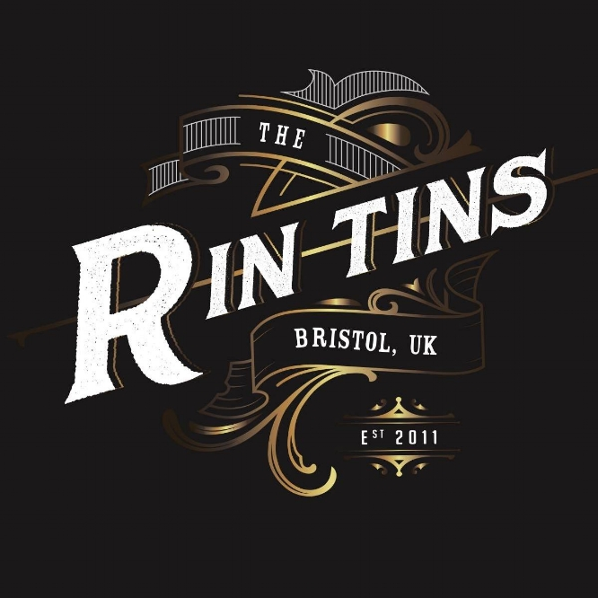 THE RIN TINS - They've been called the 'definitive Bristolian party band' by South West music legend Cozzie O'Cozfunkel, were 'the people's choice' at Shambala 2014 and described as 'splendid gypsy rockabilly' by The Zen Hussies own Jules Landau.