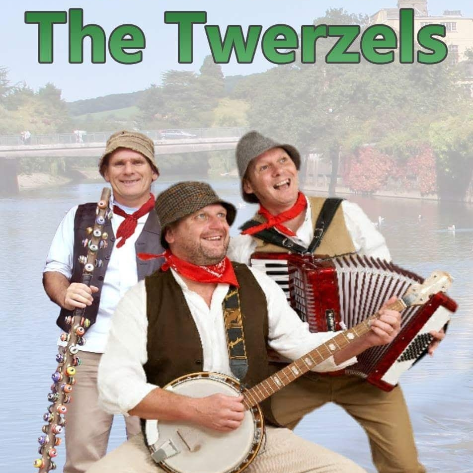 The Twerzels - The Twerzels are a three piece tribute to the Wurzels based somewhere in the West Country. Twerzels Dave Mark 'n Rich create the sounds of the West Country, playing all the old favourites plus many more party tunes guaranteed to get everybody up 'n dancing. Appearances on TV, in theatres and festivals all over England make the Twerzels one of the Country's busiest acts.