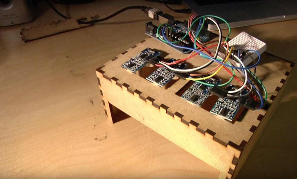 Prototyping with arduino, laser-cutting, woodworking
