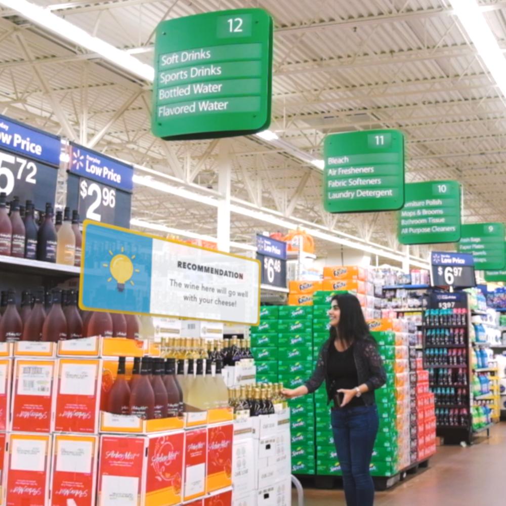 A service design project reimagining shopping at Walmart Jan-Apr 2017