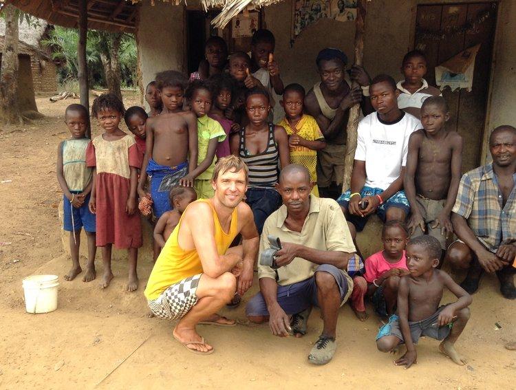 Bezoek lokale gemeenschappen Sierra Leone