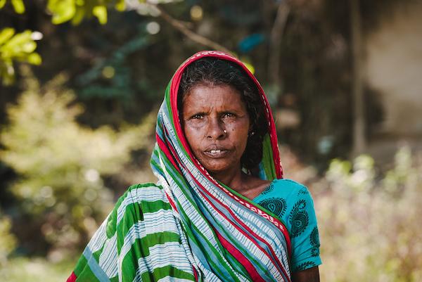 Musahar vrouw Nepal