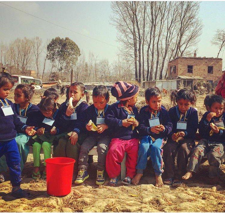 Kinderbescherming Nepal