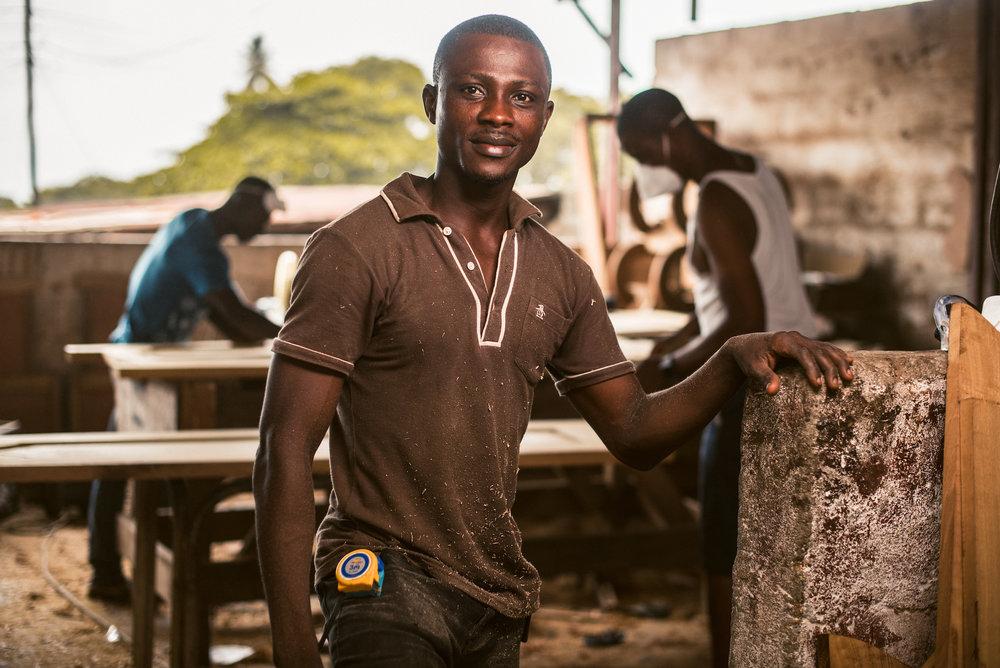 Micro bedrijfje Sierra Leone