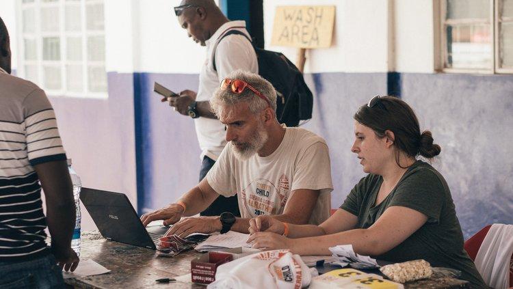Scriptie schrijven in Afrika