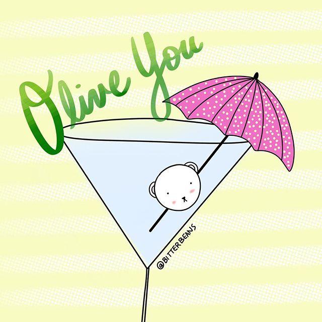 I olive you through water or vodka but I would prefer vodka 🙏 #isithappyhouryet