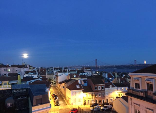 Lisbon at dusk…