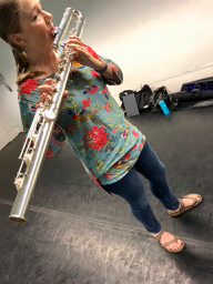 Why is the bass flute just so cool?