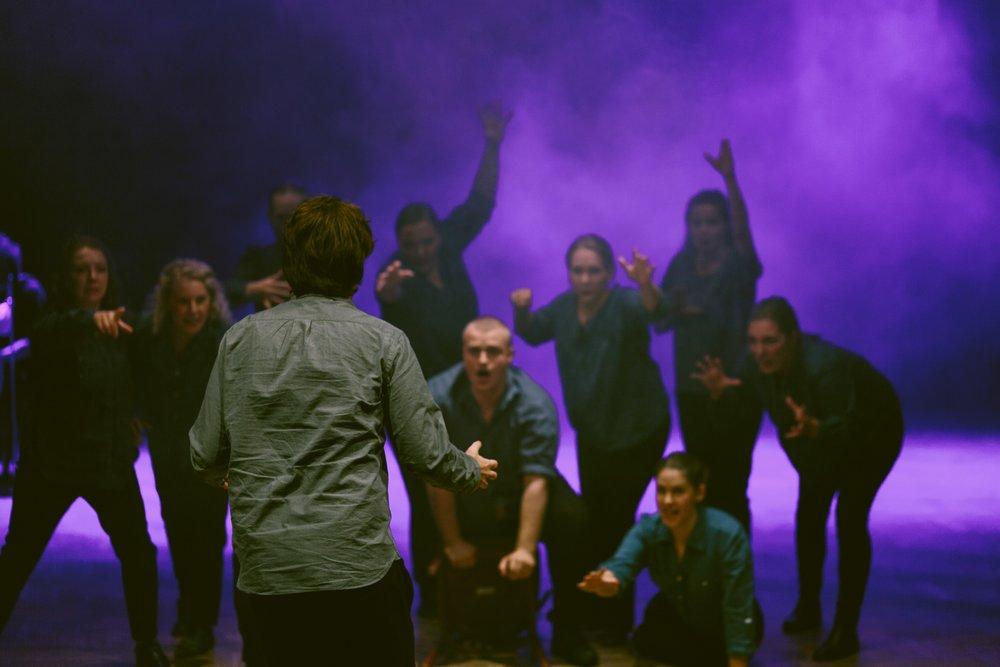 Ur Gravity of Life VI med sångklassen vid Sara Wiléns disputation i konstnärlig forskning vid Musikhögskolan i Malmö 2017 .