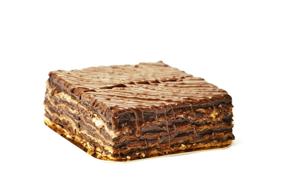 Наполеон шоколадний
