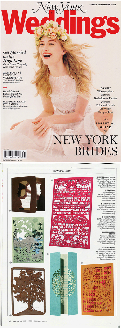 New York Weddings Summer 2014